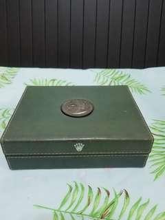中古勞力士錶盒 (紀念銀幣鑲面)