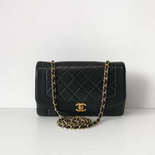 Authentic Chanel Diana Medium Flap Bag