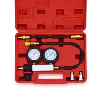 #July100 - TU - 21 ENGINE CYLINDER LEAKAGE TESTER DUAL PRESSURE INSTRUMENT DIAGNOSTIC KIT