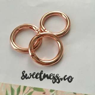 Rose Gold O Ring