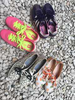 Casual shoes, very good condition 75-85% all size 38 fit to 37,5 - 38