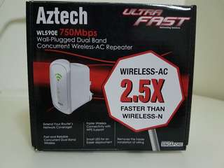 AZTECH WL590E DUAL BAND REPEATER
