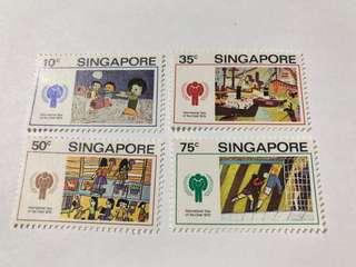 Singapore 1979 Year of the Child  mnh