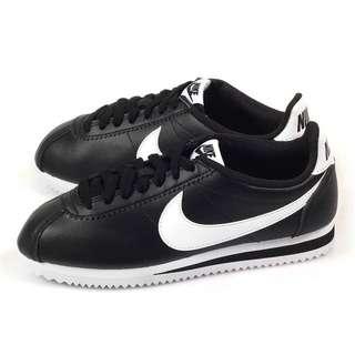 🚚 Nike經典 阿甘鞋 22.5 黑色 現貨 全新