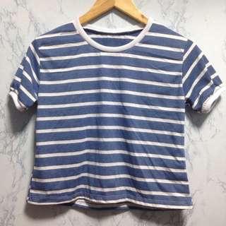 Stripes top / ringer top