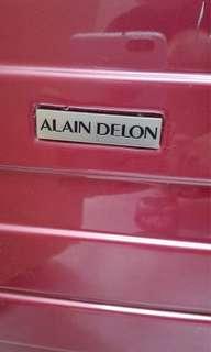 法國 名牌Alain Delon 21吋喼 suitcase luggage box 行李箱