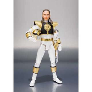 [PREORDER] S.H.Figuarts SHF White Ranger Exclusive & Tommy Oliver Head (Mighty Morpin Power Rangers)