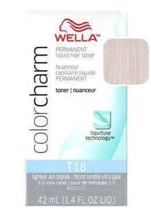 🆕 Wella Color Charm Permanent Hair Colour Dye Toner in T18