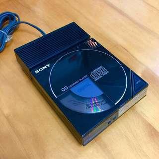 Sony - 第一部Discman D-50 (此機1984年7月製造) 連原裝「恐龍探險車」式變壓器AC-P50。功能正常,只能播放部分CD。有正常使用痕跡(介意者勿投)