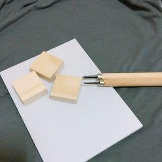 🚚 雕刻用橡皮擦