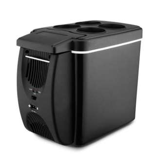 CAR TYPE ELECTRICAL COOLER HEATER PORTABLE REFRIGERATOR (BLACK) #July100