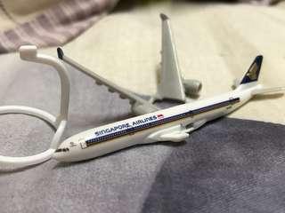 新加坡航空A330-300迷你飛機模型