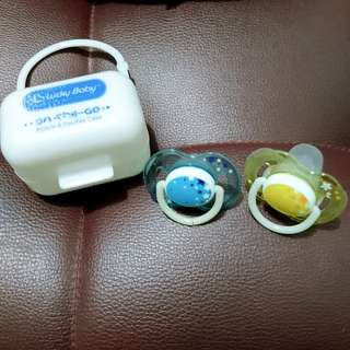 Pacifier avent and case