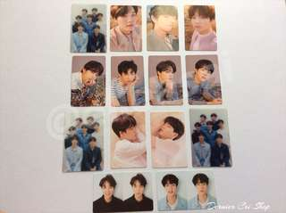 BTS OFFICIAL PHOTOCARD #winllaollao