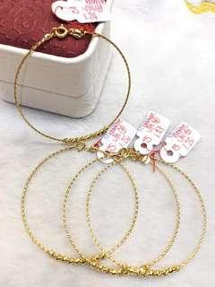 18k saudi gold light weight bangle