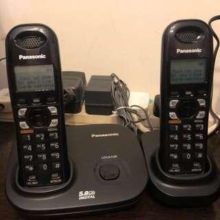 Panasonic 室內數码無線電話 90%新 子母機