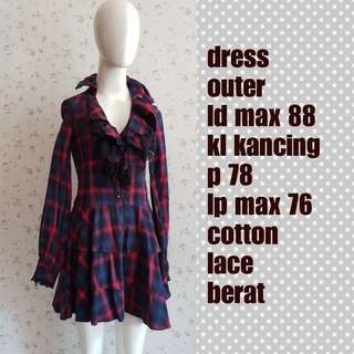 Outer dress tartan