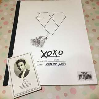 EXO XOXO專輯 Korean Ver. CD (含D.O.小卡)