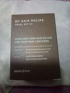 INNISFREE MY HAIR RECIPE TRAIL KIT