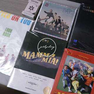 [INSTOCK] KPOP ALBUMS/POSTERS Reduced To Clear!