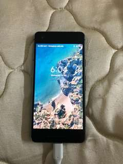 Google pixel 2 (64 and 128 gb) 100% new without box no scratches no dent