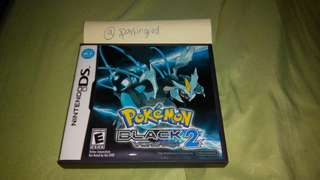 Pokemon Black 2 NDS