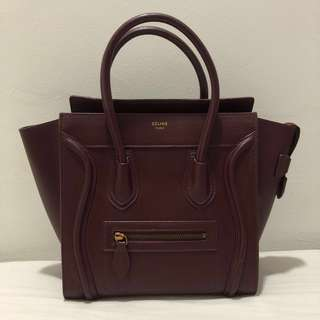 RM650 Only July - Celine Micro Luggage Inspired
