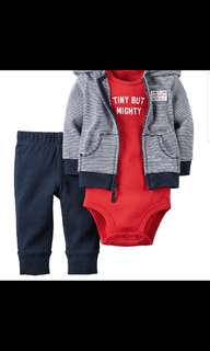 [Brand New] (NB) Carters 3 Pieces Set