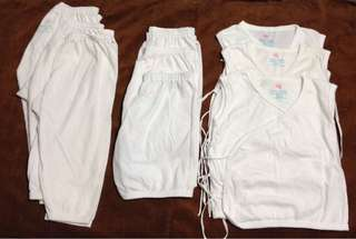 Baby white clothes