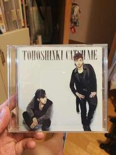 東方神起 TVXQ tohoshinki 日版 single catch me
