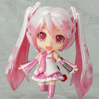 Authentic Sakura Miku Nendoroid
