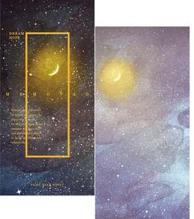 🚚 Moonlight Fantasy Galaxy Notepad