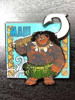 迪士尼 慕安娜家族 徽章 襟章 Disney Vaiana families mani Moana pin pins
