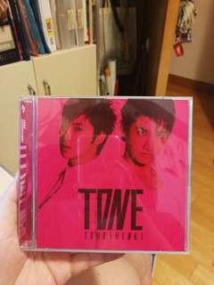 東方神起 TVXQ tohoshinki 日版 tone 專輯 cd dvd
