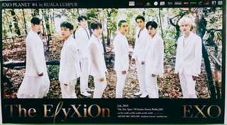ElyXiOn in Malaysia EXO official poster