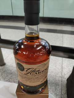 1公升蘇格所蘭12年波本混合雪利桶48%威士忌1000ml連盒。