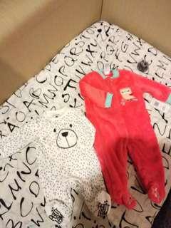 Warm baby bodysuits