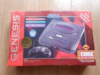 Sega Mega Drive console brand new -- Not original but working OK