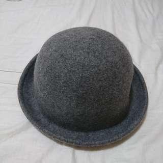 灰色畫家帽