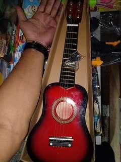 guitar kapok mini display