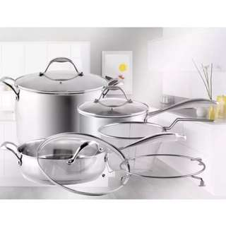 (Brand new) Quality Stainless Steel Cookware