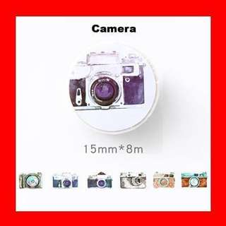 🚚 Washi Tape (Camera)