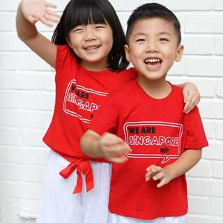 🚚 NDP 2018 Tee & Short Set (For 1-5Y)