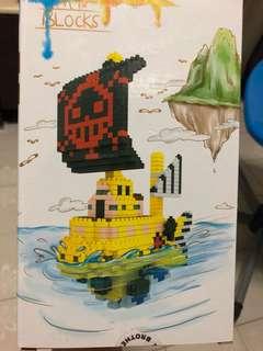 One Piece - Law's pirates ship
