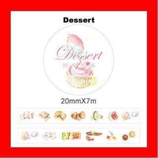 🚚 Washi Tape (Dessert)