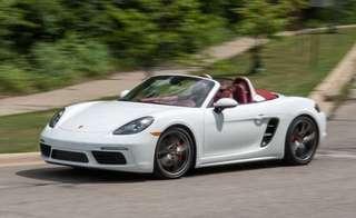Porsche Boxster Rental ! (Wedding/Personal)