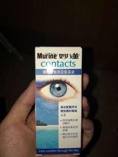 Murine contacts 妙蓮隱形眼鏡眼藥水