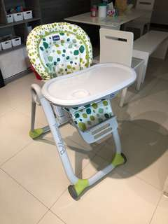 Chicco poly progress baby highchair