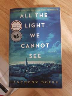 All the Light We Cannot See book/novel