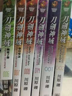 刀劍神域小說